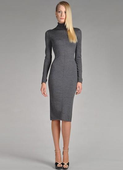 Трикотажные платья 2014 c278433bf4e
