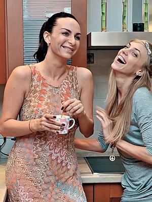 Екатерина варнава и константин мякиньков проводят время в.