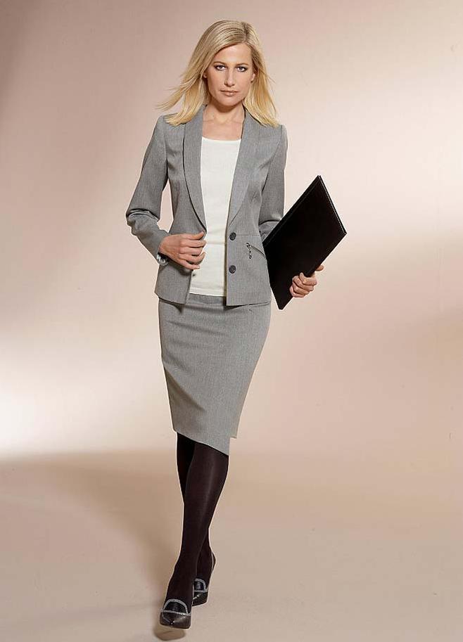 81a359fbf7b7 ... женский классический деловой стиль 3
