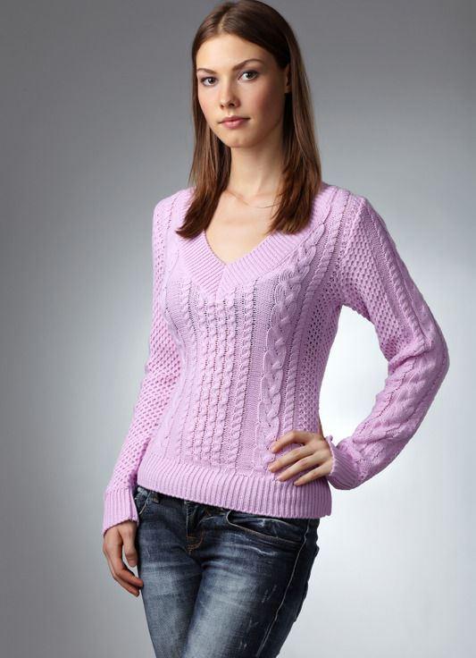 e141dcd28a27 Женский пуловер