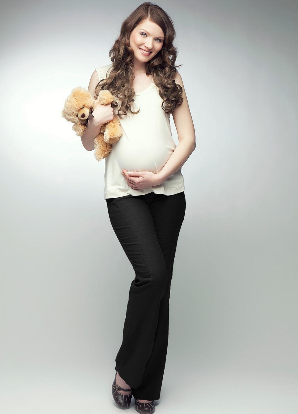 85f154451156 Летние брюки для беременных
