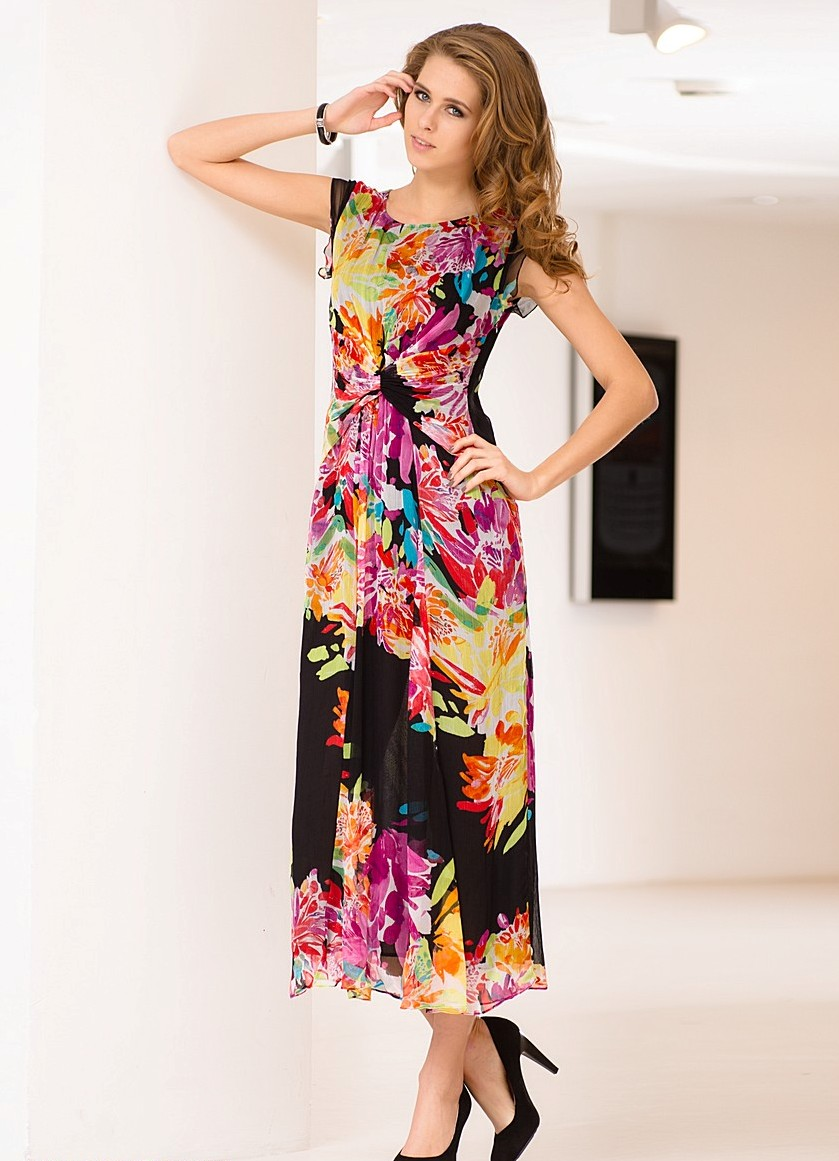9f09563c02a Летние платья из шифона 2013