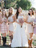Что одеть на свадьбу осенью?
