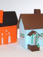 Как сделать дом из бумаги?
