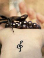 Модные татуировки для девушек 2014