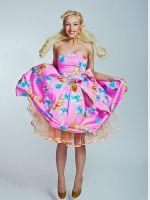 Платья в стиле 80-х
