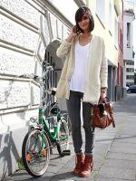 С чем носить коричневые ботинки?
