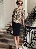 С чем носить леопардовый пиджак?