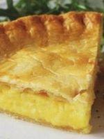 Сырный пирог – рецепт