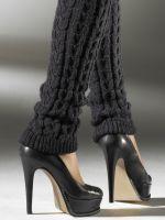 Вязаные гетры: красиво, стильно и тепло