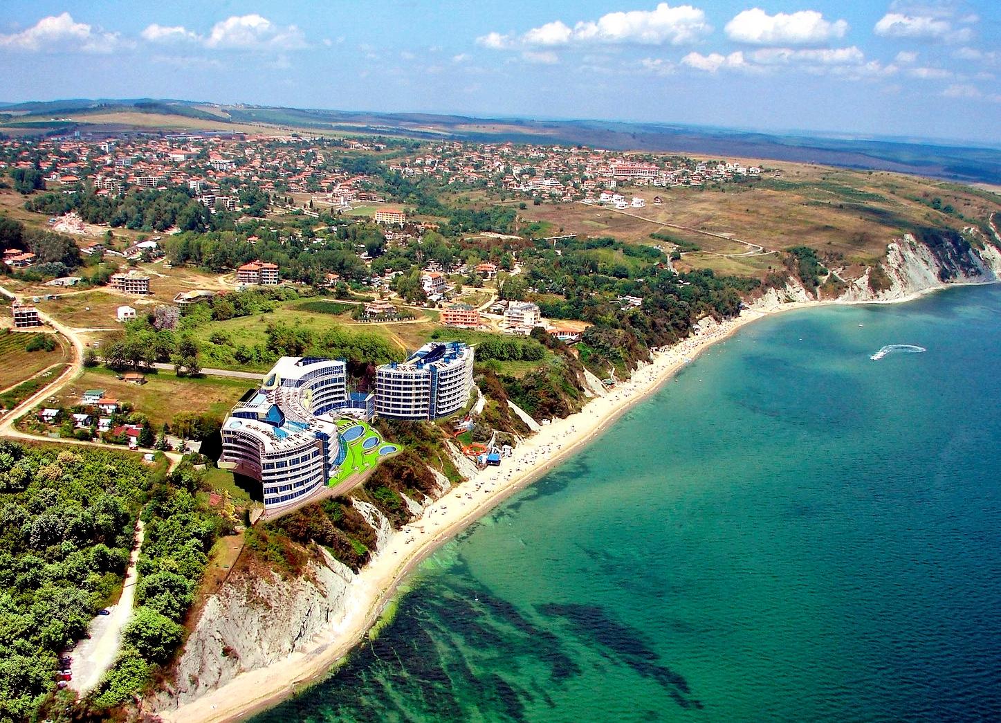 Бяла болгария фото города и пляжа