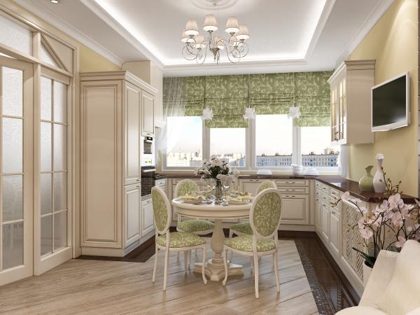 Как сшить рулонные шторы для кухни фото 527