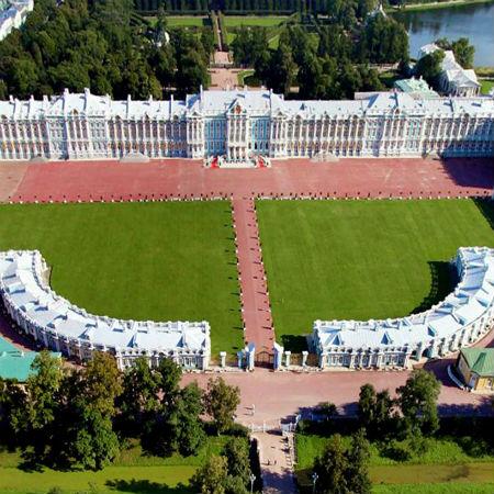 Екатерининский дворец и Янтарная комната