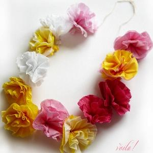 Бумажные цветы своими руками из салфеток как сделать фото 945