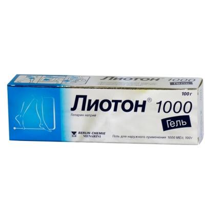 Гель Лиотон 1000: инструкция по применению, состав, аналоги, использование геля Лиотон 1000 при геморрое