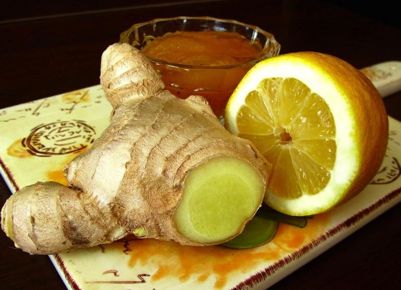 Лимон, имбирь и мед для похудения