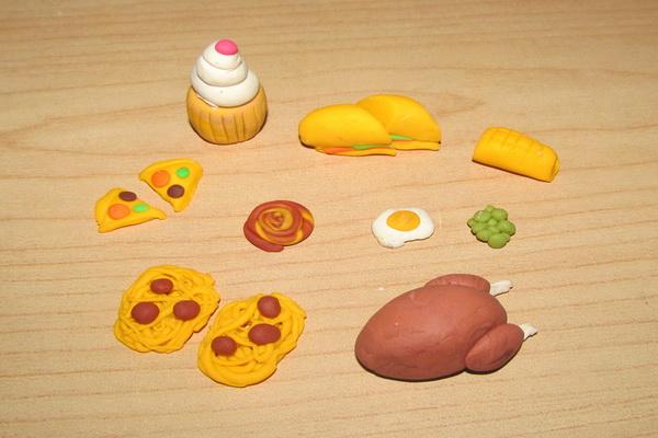 Еда для кукол своими руками. Как сделать еду для кукол 19