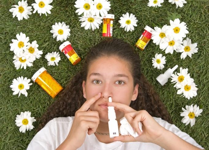 Народные средства от аллергии на спермум