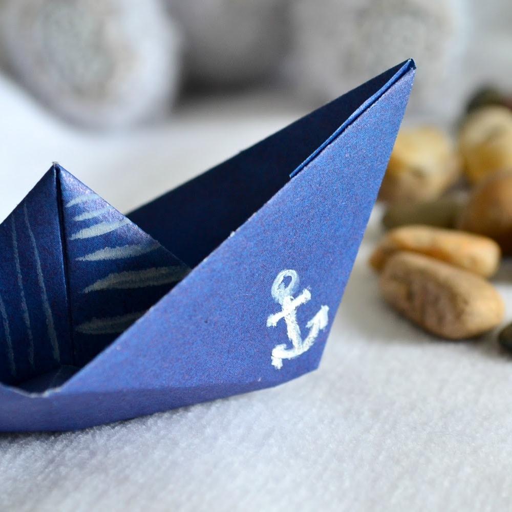 фото с корабликами из бумаги территорию