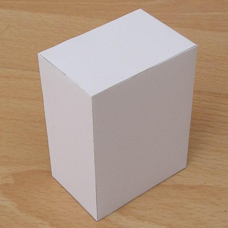 Как сделать параллелепипед из картона фото 568
