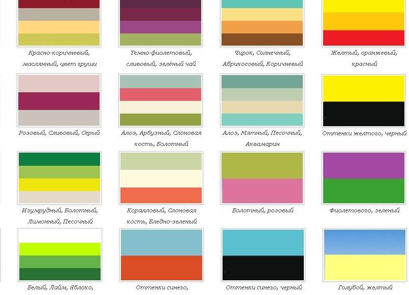 Сочетание цветов цвет лайм фото