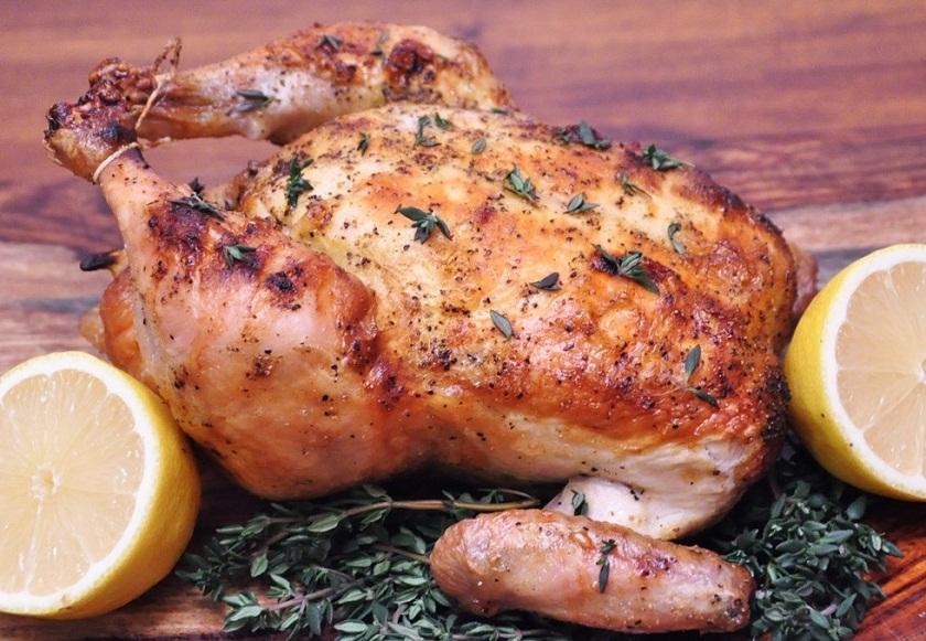 курица с лимоном в духовке рецепт с фото