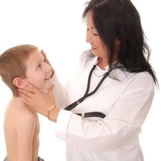 Лимфоузлы на затылке у ребенка