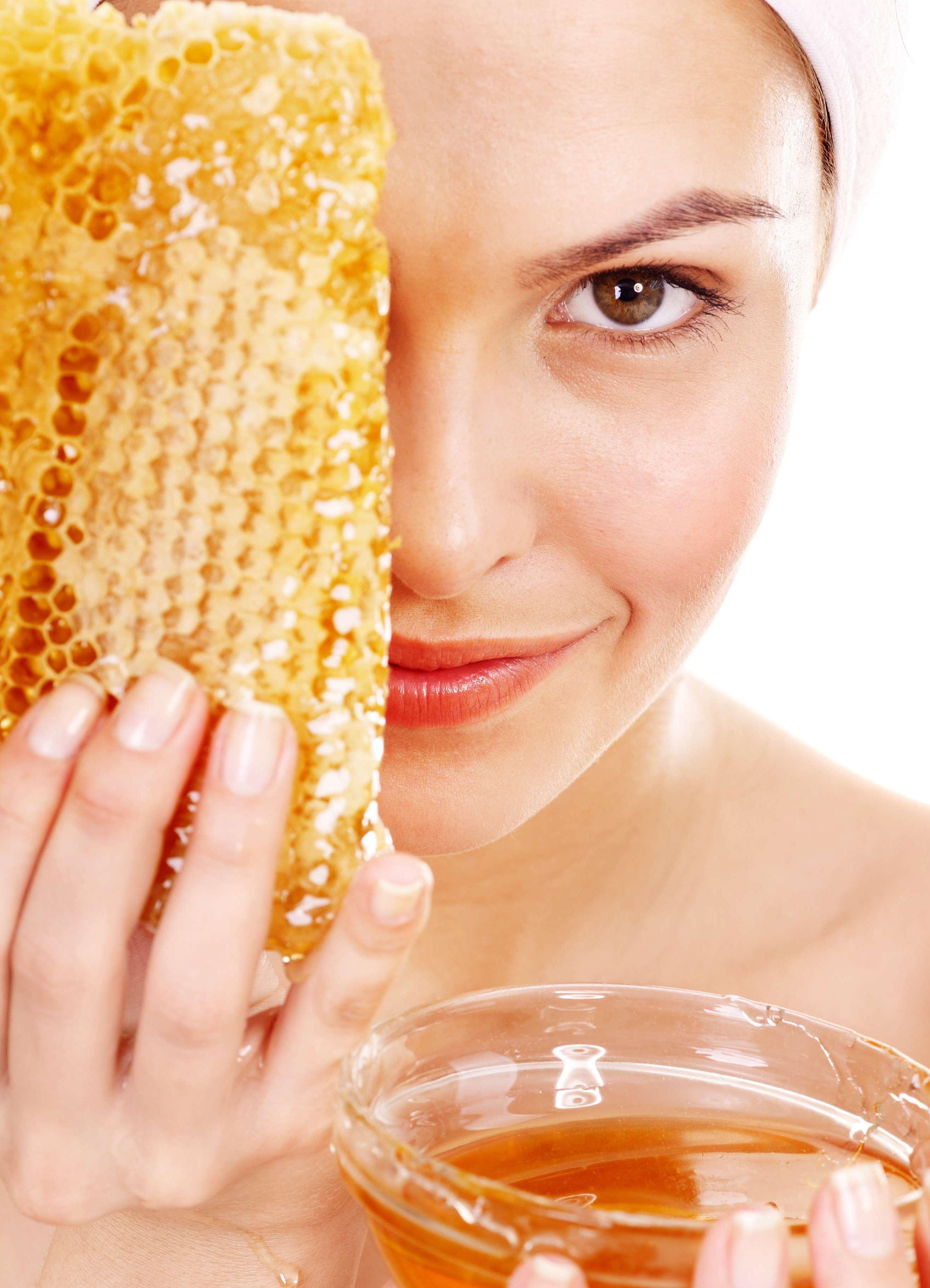 Мед для кожи лица — Красивое лицо
