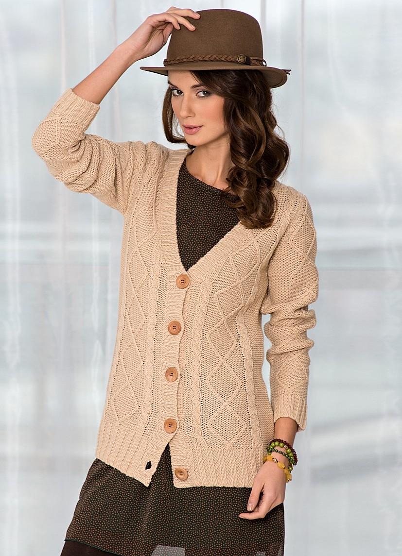 Модные Вязанные Джемпера
