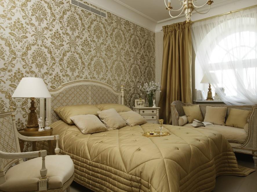 обои для спальни дизайн