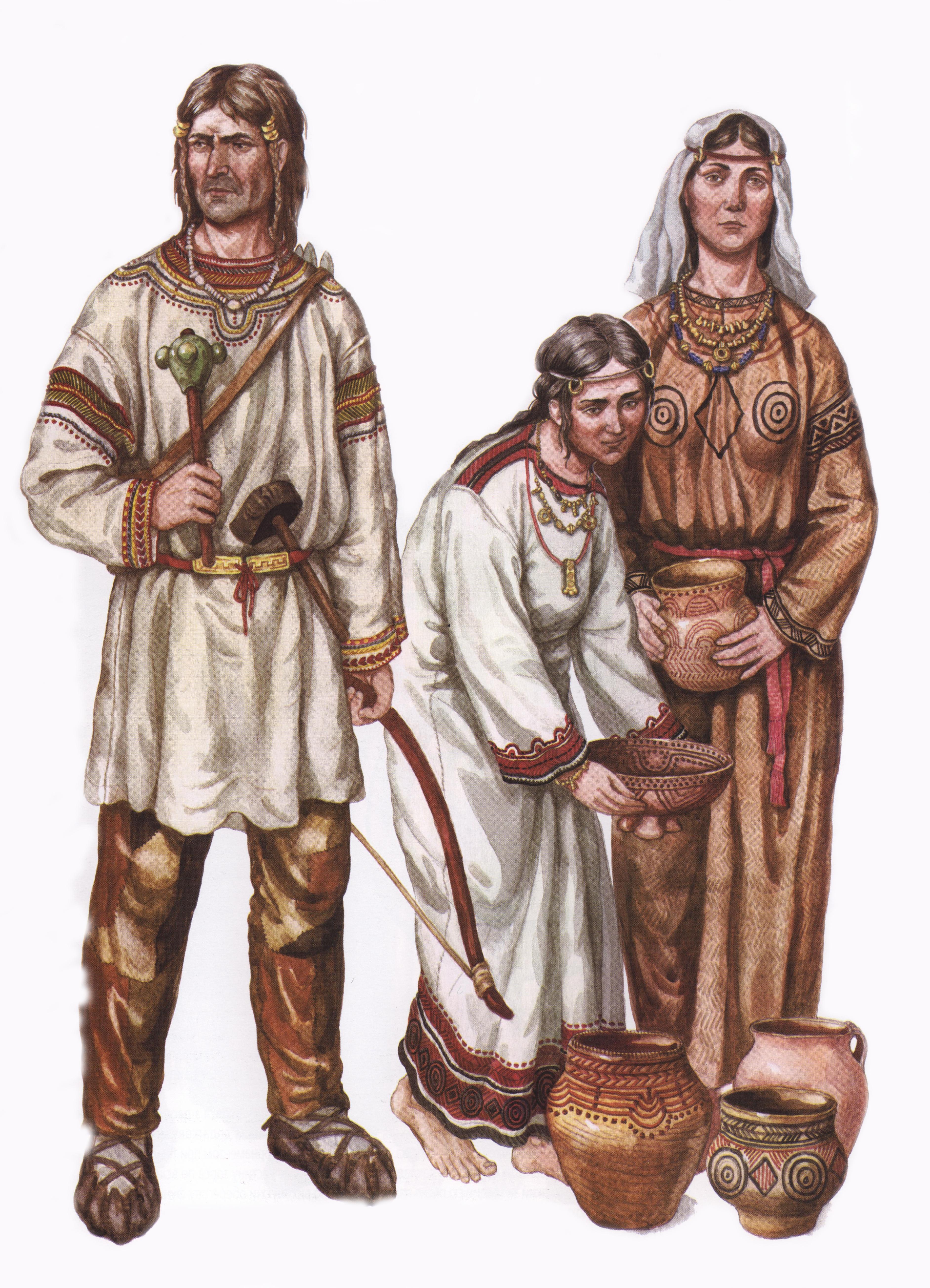 разместилась центре одежда жителей древней руси фото подборка