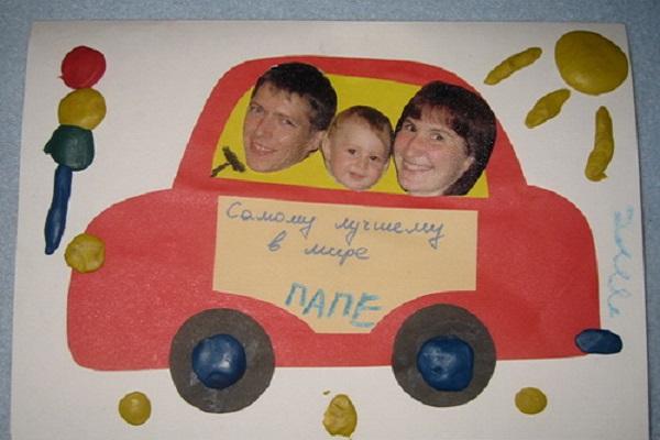 Текстом открытки, открытка от ребенка своими руками папе на день рождения