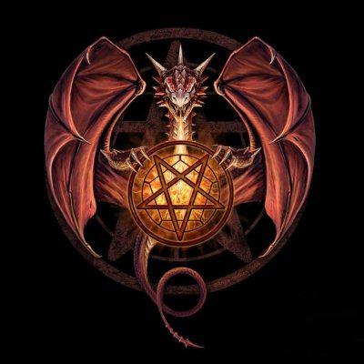 Черная Пентаграмма дьявола значение, описание ведьмы