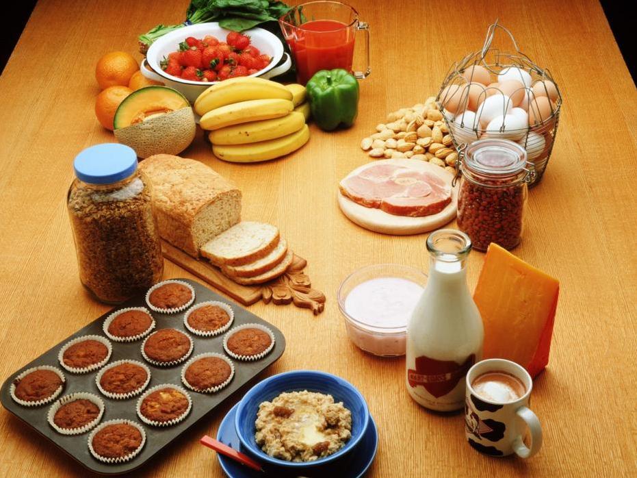 Совместимость продуктов питания, таблица для раздельного питания