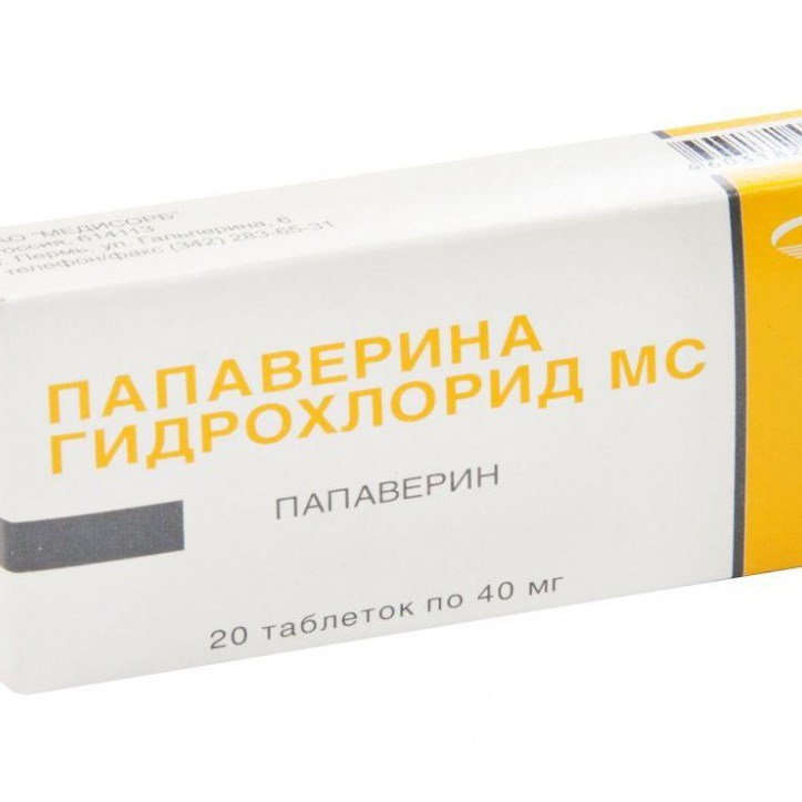 Папаверин таблетки инструкция по применению взрослым