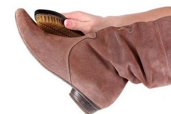 e5c9b5ae0 Уход за замшевой обувью зимой