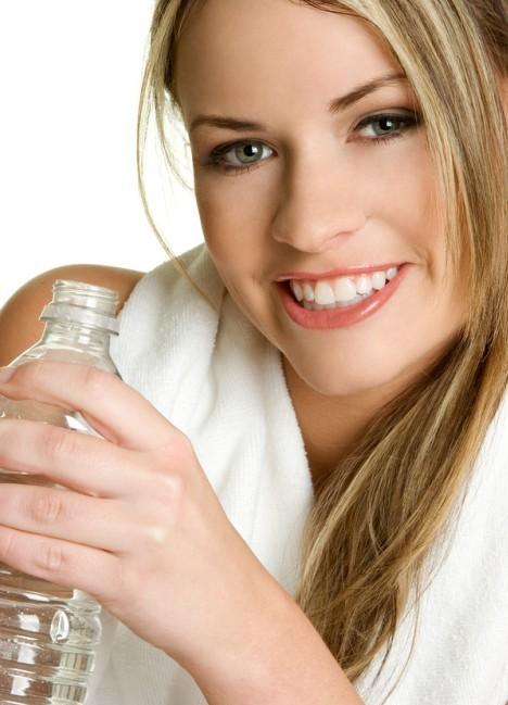 Двойной удар диета на минеральной и лимонной воде