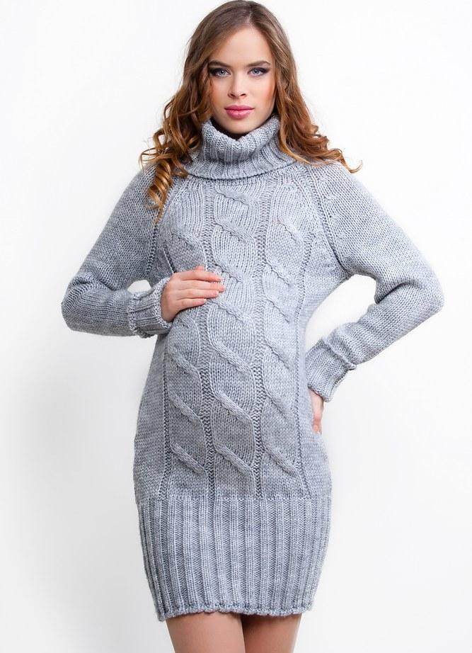 вязаные платья для беременных