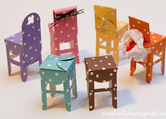 Мебель для игрушек своими руками фото 650