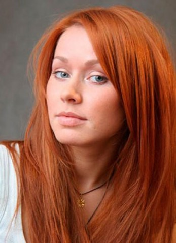 цвет волос медный светлый фото
