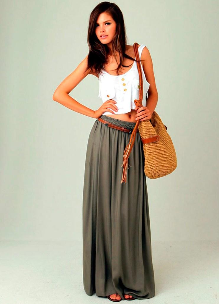 однажды стильные длинные юбки фото покупателя это