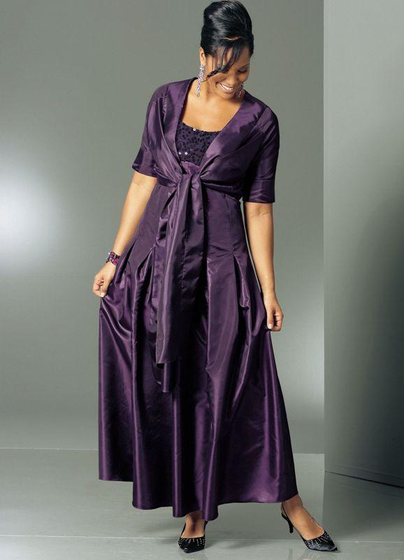 Фасоны платьев для полных женщин фото модели варианты