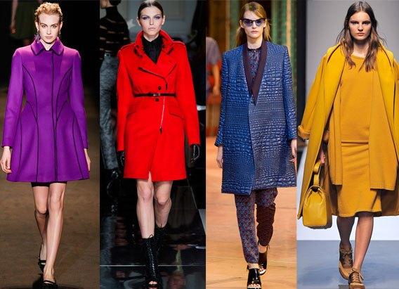 Модные цвета пальто осень 2013 a4ca0dca03b