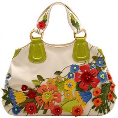 сумки цветные летние
