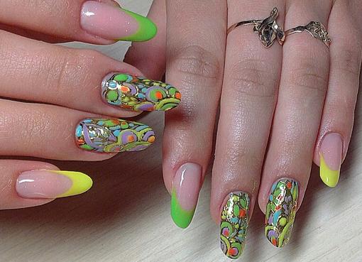 фото рисунки на ногтях 2015 новинки