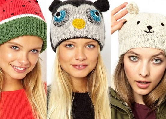 Модные шапки для подростков