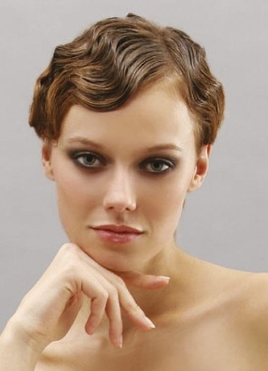 волна причёска фото