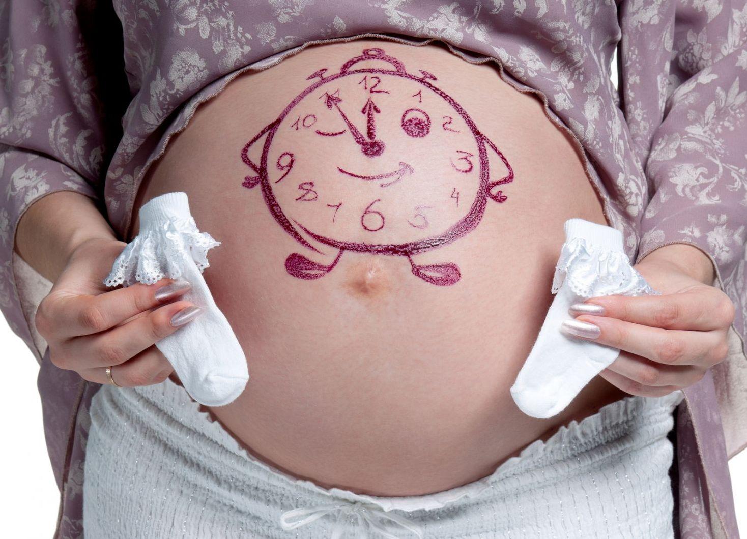 Что будет если беременность 10 месяцев