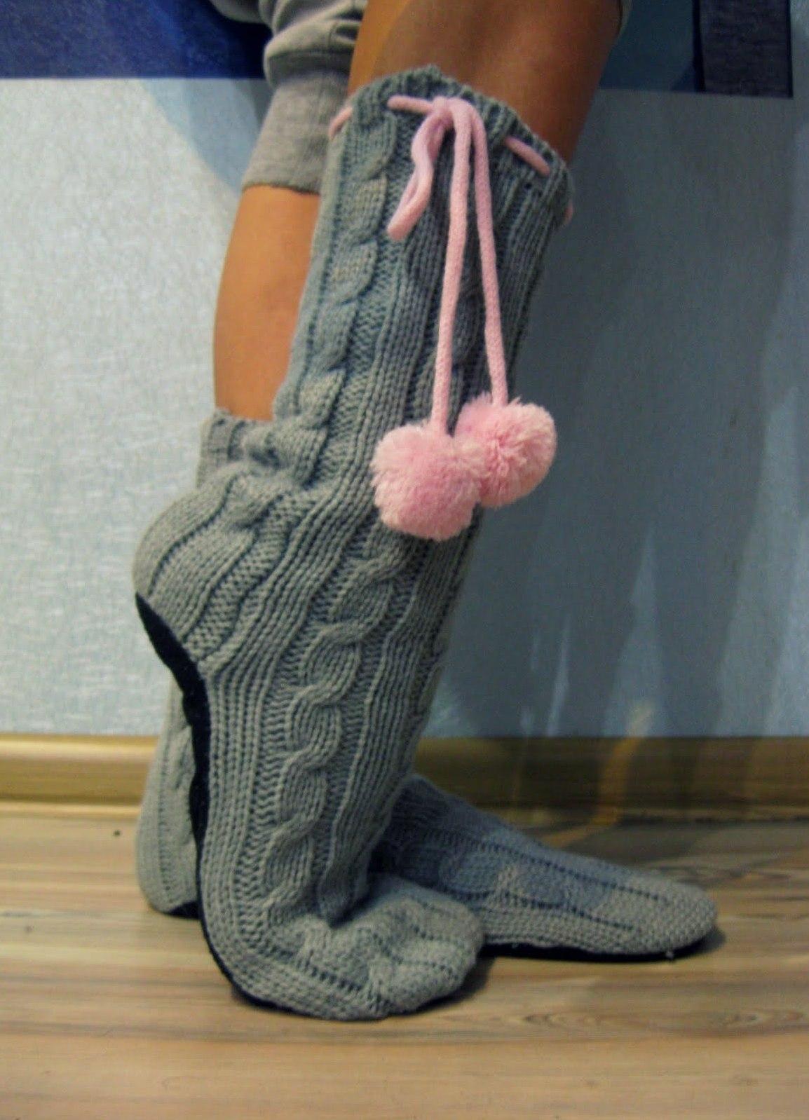 носки в тапках фото