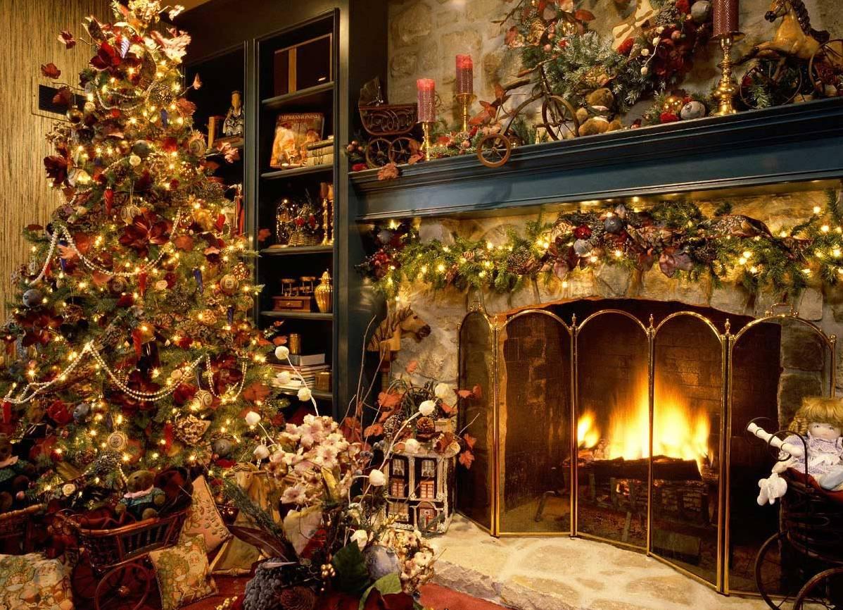 17f88a054ac9 Новогоднее оформление дома